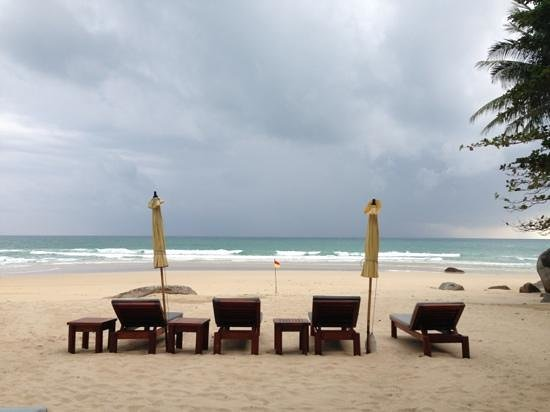Amanpuri: hotel beach