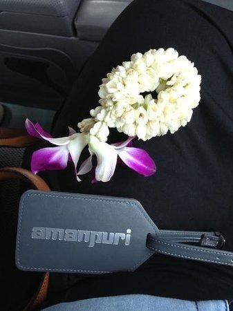 Amanpuri: departure gift