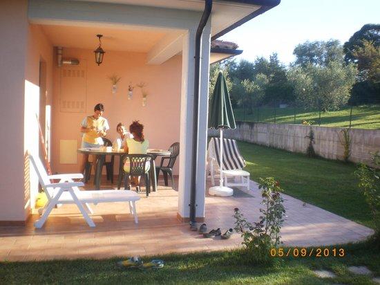 Residence Bartolini Ai Campi da Golf: La veranda