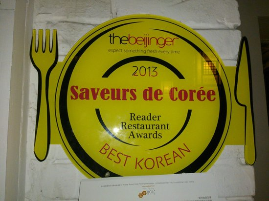 Saveurs de Coree (Hanxiangguan & Nanluo Guxiang): Says it all!!!