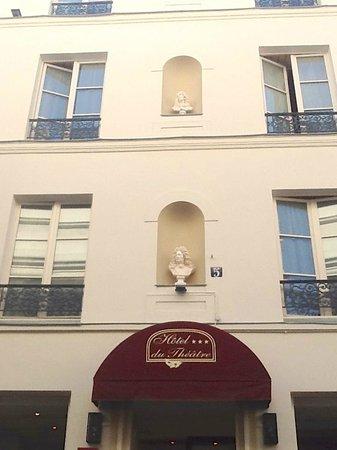 facade hotel du theatre 2013