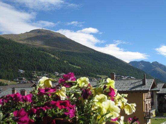 Hotel Angelica: uitzicht vanaf het balkon
