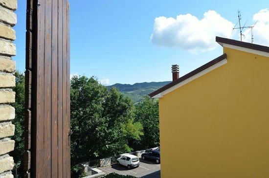 Hotel La Rocca Dei Malatesta : Vista dalla finestra