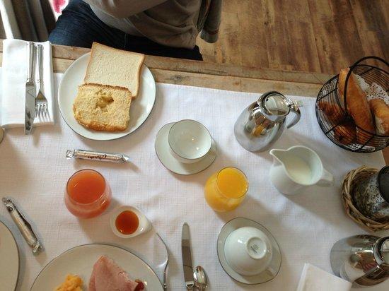 Hotel Le Clos St Martin : Petit déjeuner