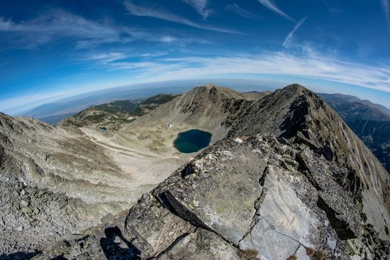Rila Mountains: Musala Peak view