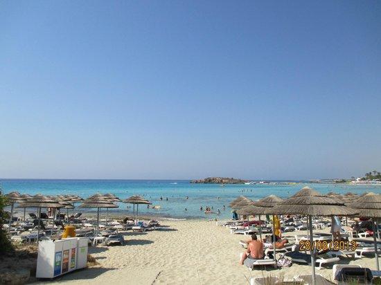 Nissi Beach Resort: пляж Nissi