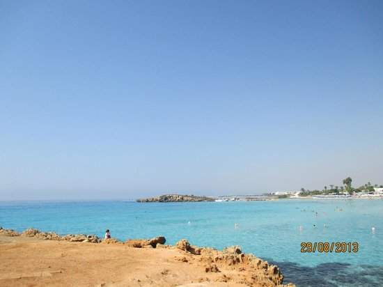 Nissi Beach Resort: beach Nissi