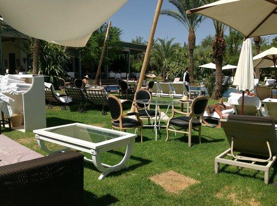 jardin picture of les jardins d 39 ines restaurant marrakech tripadvisor. Black Bedroom Furniture Sets. Home Design Ideas