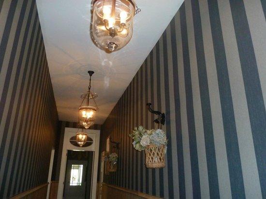 Casa Romantico: couloir entrée
