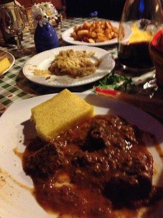 Rifugio Nuvolau : cena