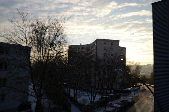 Hotel Berlin: Vista dalla finestra