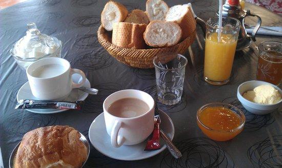 Hotel Cecil Marrakech: breakfast!