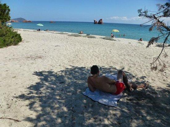 Agriturismo Su Barraccu: spiaggia raggiunta in bici