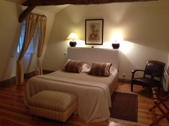 La Chartreuse du Bignac : chambre