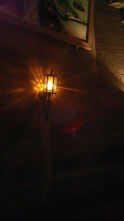 Howe Caverns: Lights