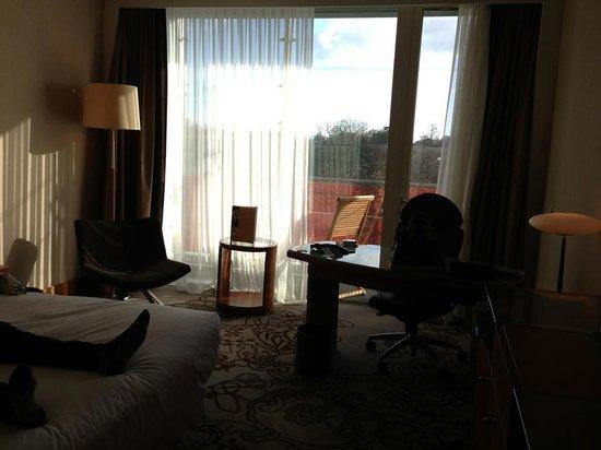 Lyon Marriott Hotel Cité International: Chambre