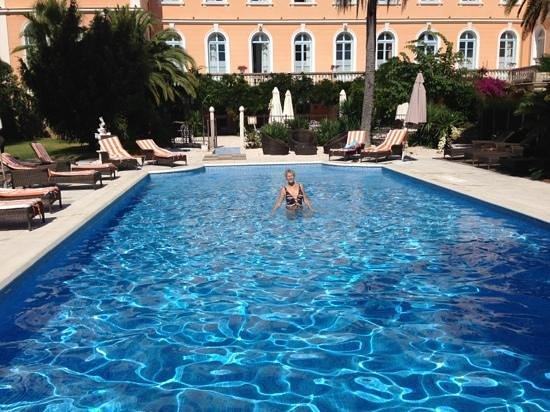 L 'Orangeraie Parc Hotel: piscine chauffée super agréable ��