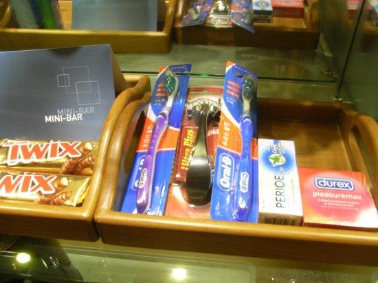 Novotel Ambassador Seoul Gangnam: 歯ブラシなど有料