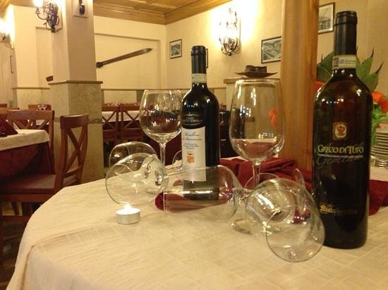 Hotel Togo Palace : sala ristorante... ottimo greco di tufo!!!