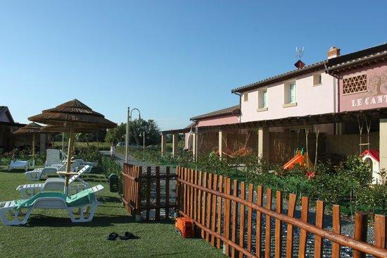 Fattoria Palazzetta: Panoramica appartamenti