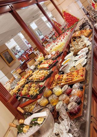 Kempinski Hotel Moika 22: Breakfast
