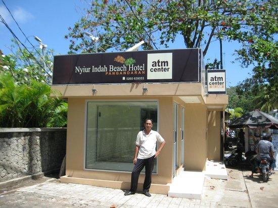 Nyiur Indah Beach Hotel: ATM facility