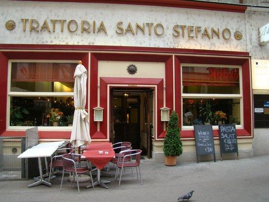 Graben Hotel: Eingang zum Hotelrestaurant