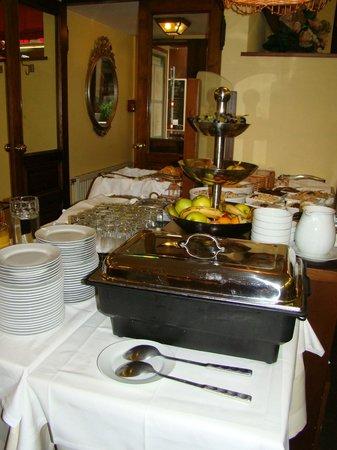 Graben Hotel: Frühstücksbuffet, anderer Blickwinkel