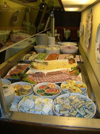 Graben Hotel: Reichhaltiges Frühstücksbuffet