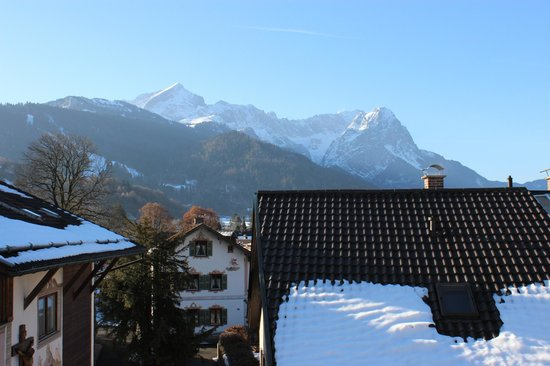 Gasthof Fraundorfer : View from our window