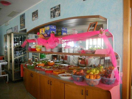 Hotel San Gottardo: Buffet