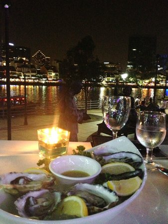 Indochine Waterfront Restaurant: view