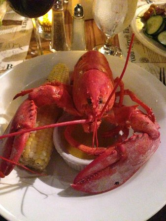 Broad Arrow Tavern: Lobster...