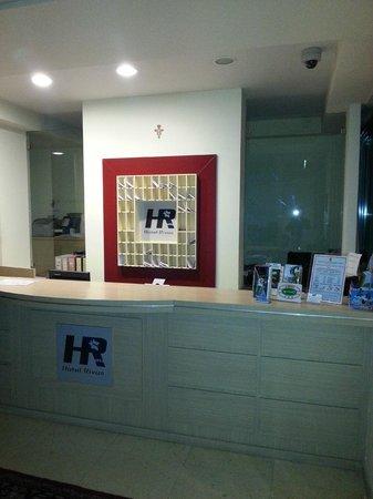 Hotel Rivus: Reception