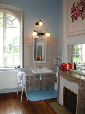 Chateau de Bonnemare : super baño