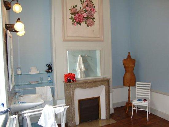 Château de Bonnemare : detalles baño