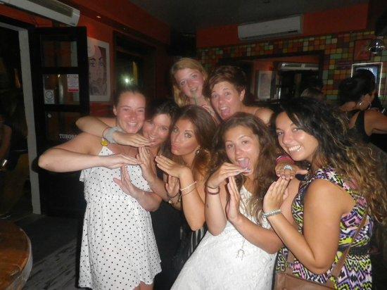 The Drunken Monkey Hostel: Girls on a night out in Zadar
