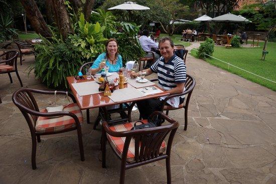 Tamambo Karen Blixen: Nice ambience in the garden