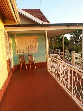 Lake Victoria View Guest House: side of house