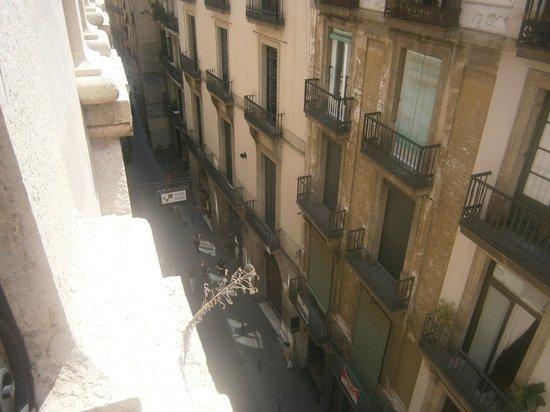 Hostal Levante: Panorama dalla stanza 205