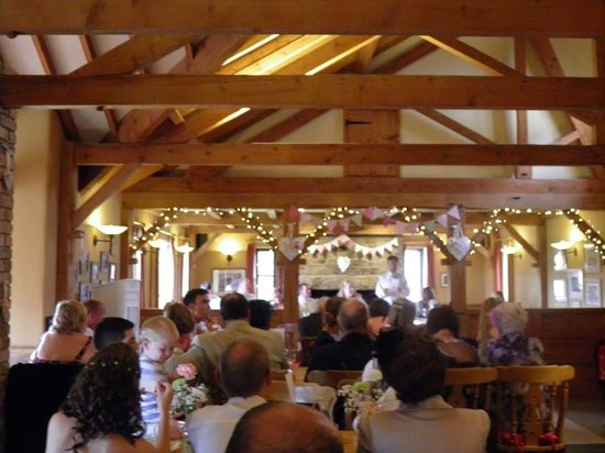 Rydon Inn : Our wedding during the speeches