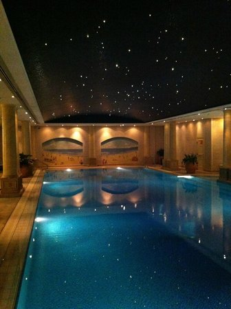 The Langham, Sydney: Pool With Starry Night Sky U0026 Wall Murals Part 71
