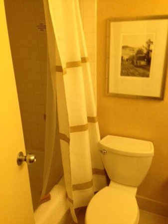 San Francisco Airport Marriott Waterfront: badezimmer