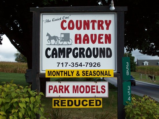 Country Haven Campground : Entrance