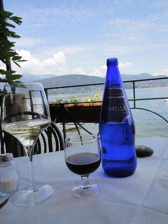 Ristorante Belvedere : ...and the view...