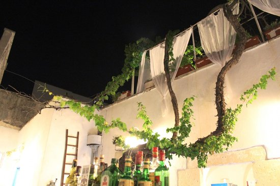 400 Il Ristorantino: giardino