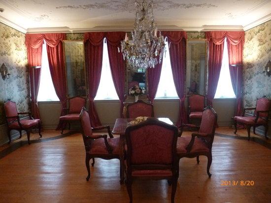 Goethe Museum: Red Room