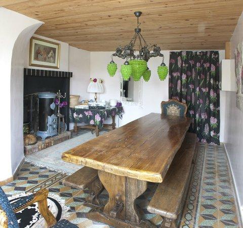 La Buzardiere B & B: Breakfast/dining room