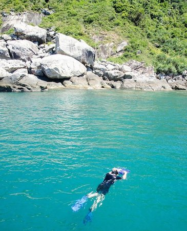 Cham Island Diving: Snorkelling off Cham Island