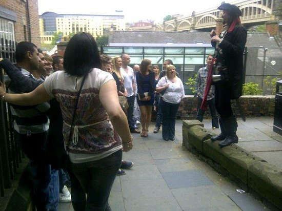 Newcastle Haunted City Tours